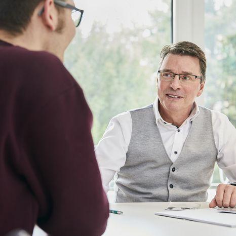 AVGS Coaching Gespräch