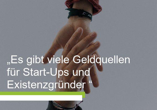 Förderprogramme für Gründer