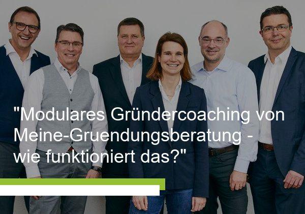 Modulares Gründercoaching