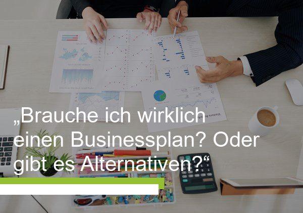 Businessplan und Business Model Canvas